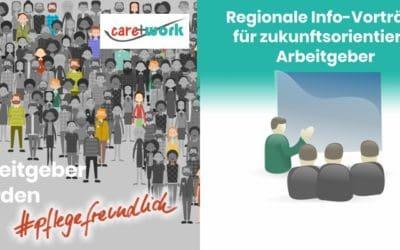 """Info-Vortrag 02.10.2018 in Gmund: """"Arbeitgeber werden #pflegefreundlich – Pflege & Beruf 4.0"""""""
